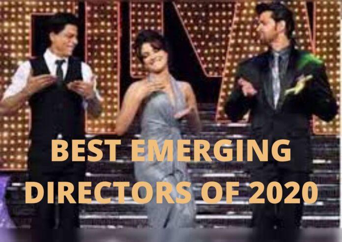 BEST EMERGING DIRECTORS OF 2020